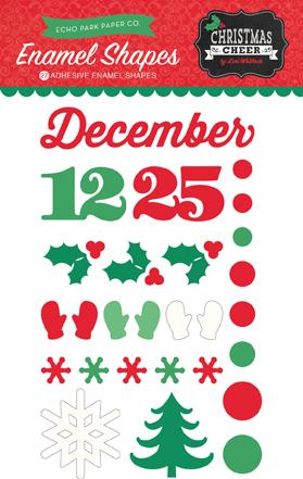 Christmas Cheer_Enamel Shape Packaging