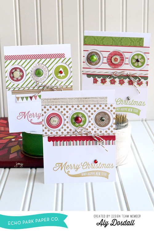 Christmas Card Set by Aly Dosdall 1
