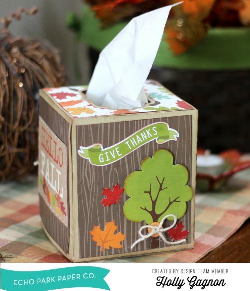 EP Tissue Box