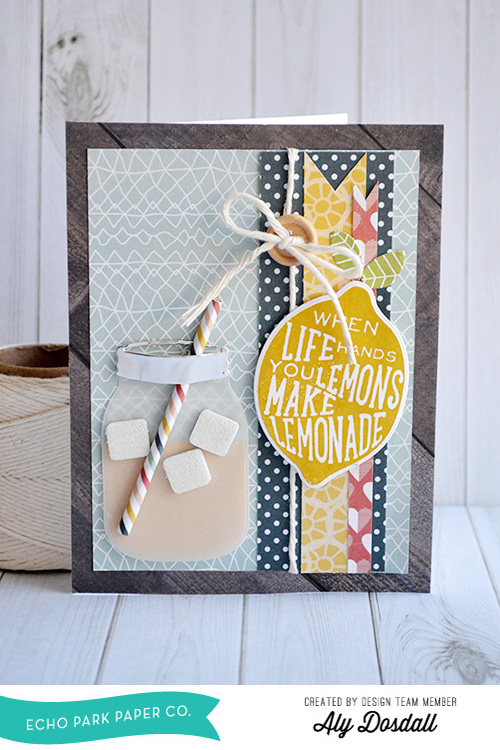 Make Lemonade Card by Aly Dosdall 1