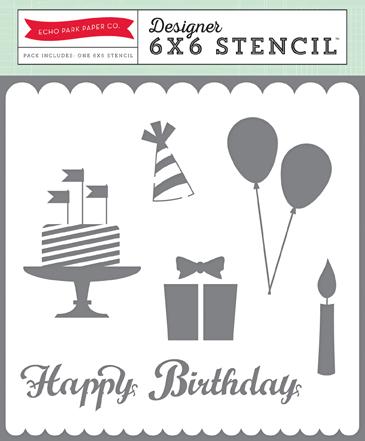 BDG85037_6x6_Stencil_Happy Birthday