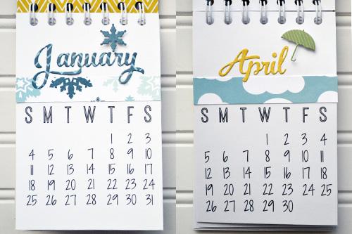 2015 Desk Calendar by Aly Dosdall 3