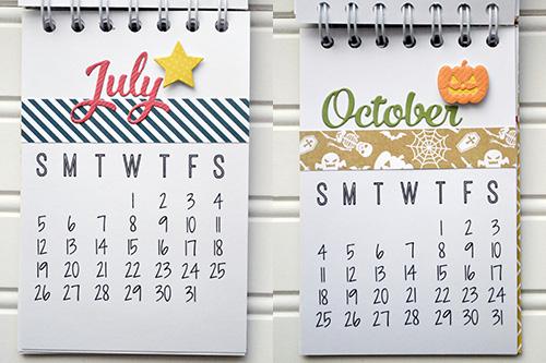 2015 Desk Calendar by Aly Dosdall 4