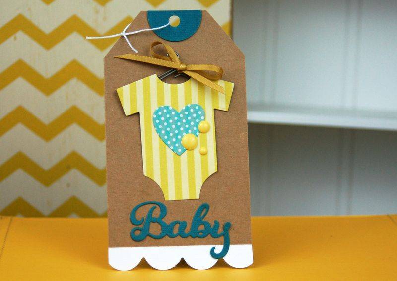 Baby Onesie Tag by Jen Gallacher