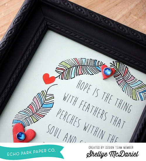 Shellye McDaniel-Anything Goes Feather Frame3