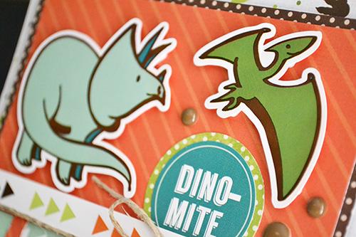 Dino-Mite Card by Aly Dosdall 3