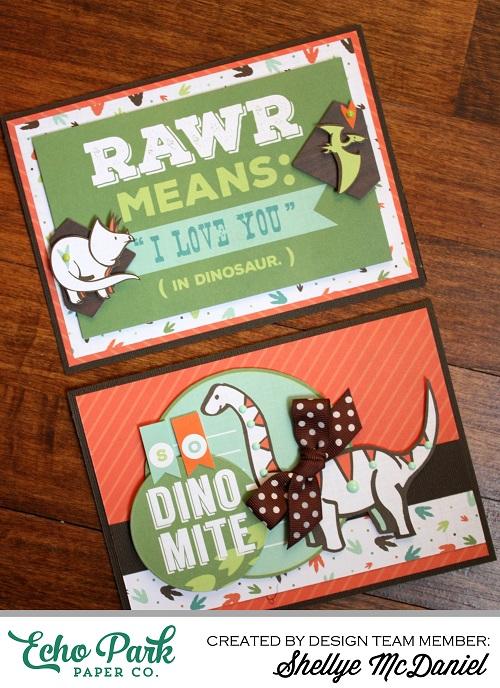 Shellye McDaniel-Dino Card Set1