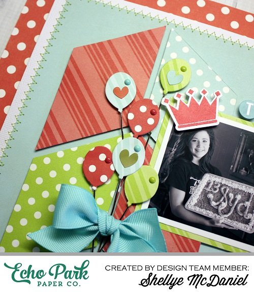 Shellye McDaniel-Party Party Layout Dots and Stripes4