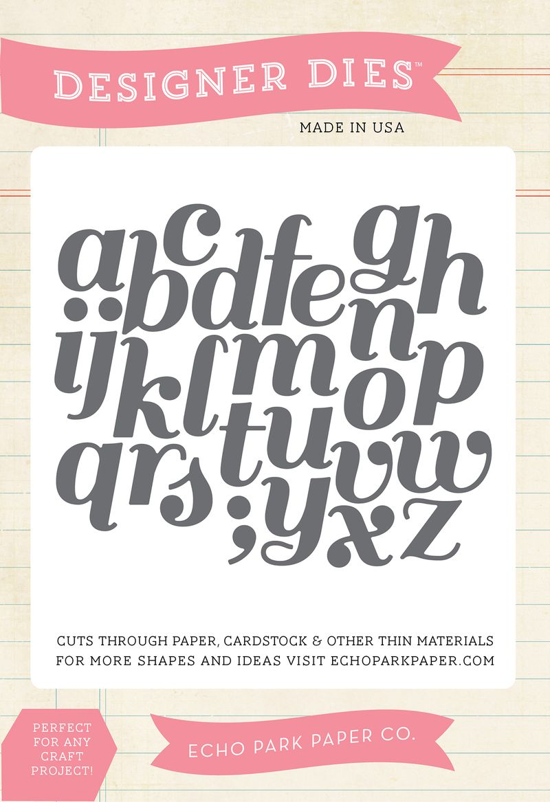 EPPDIE318_Script_Alphabet_Large_Die