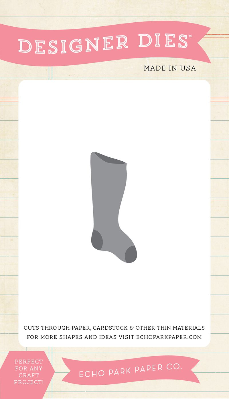 EPPDIE274_Christmas_Stocking_Mini_Die