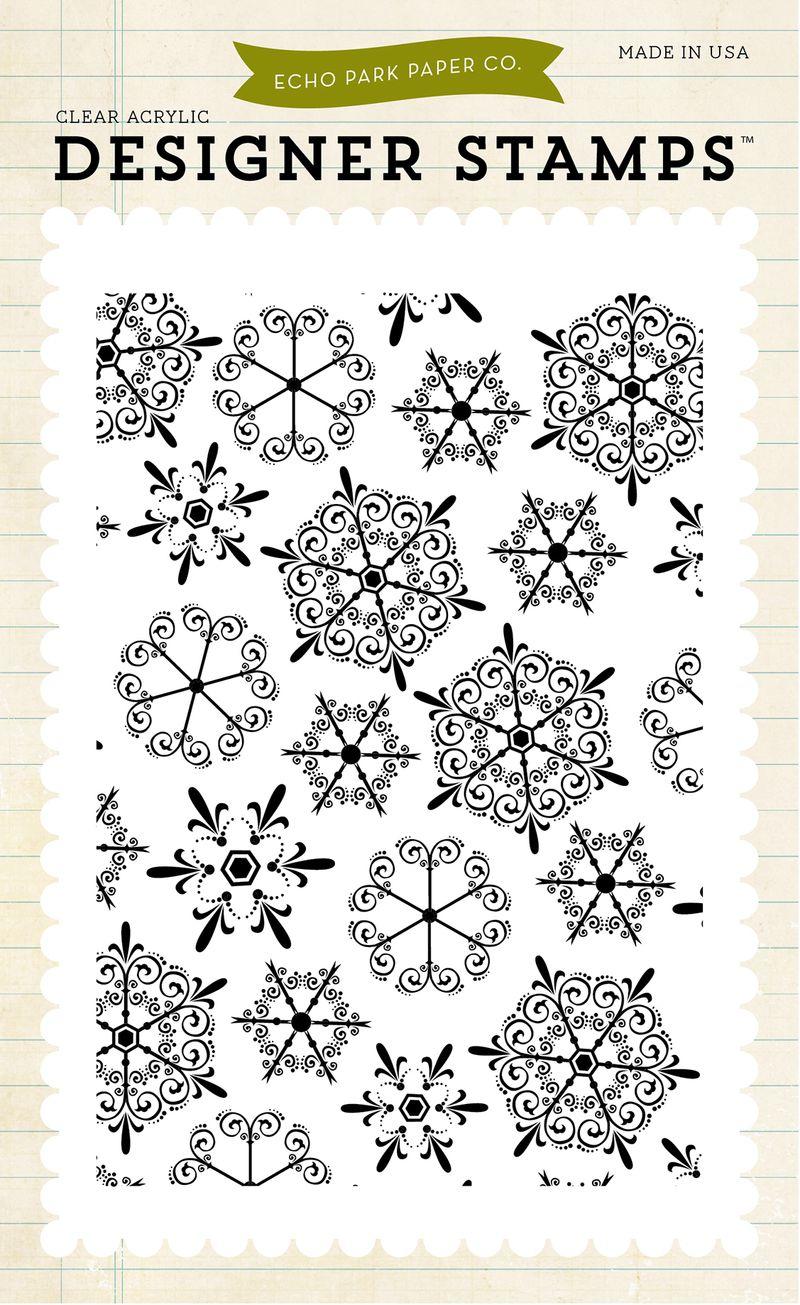 EPSTAMP80_Snowflakes_#1_Stamp