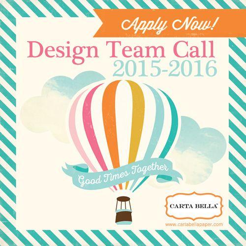 2015 Carta Bella Paper DT Call Square Image