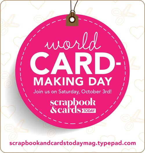 2015 World Card Making Day Graphic