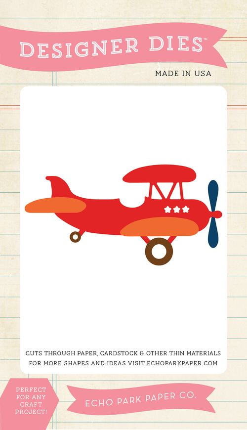 LM99040_Vintage_Airplane_Small_Die
