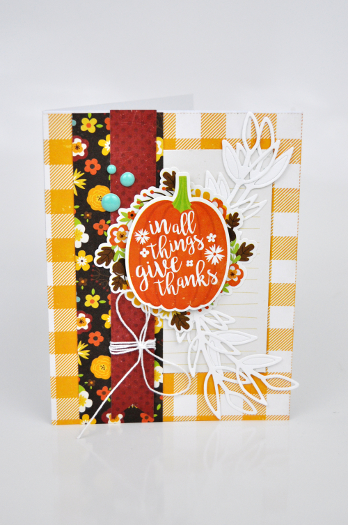 In All Things Give Thanks Card