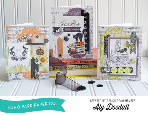 Arsenic and Lace Card Set by Aly Dosdall 1
