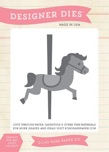 EPPDie 126_Merry_Go_Round_Horse
