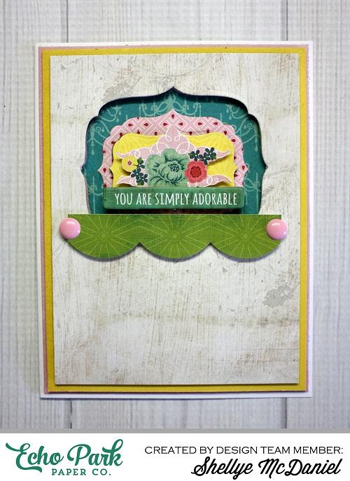 Shellye McDaniel-Simply Adorable 3D Card1
