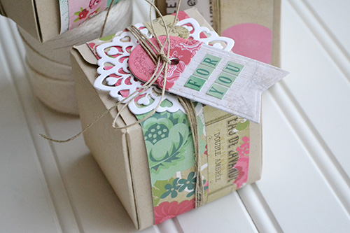 Doily Gift Boxes by Aly Dosdall 2