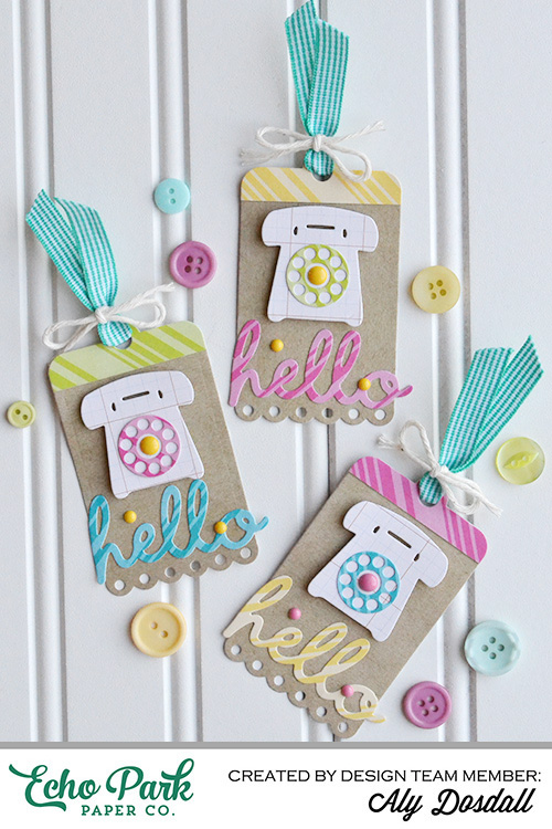 Hello Tags by Aly Dosdall 1