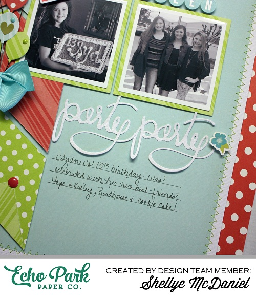 Shellye McDaniel-Party Party Layout Dots and Stripes2