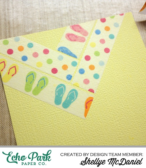 Shellye McDaniel-Fun in Sun Washi Tape Card6