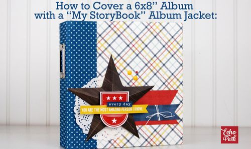 How to Cover a My StoryBook Album with an Album Jacket