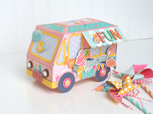 Jana Eubank Summer Dreams Ice Cream Truck 1 Original