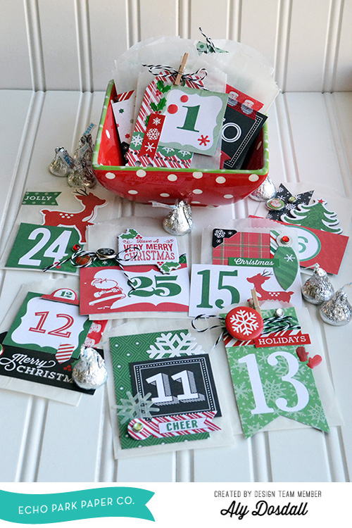 Christmas Countdown by Aly Dosdall 1