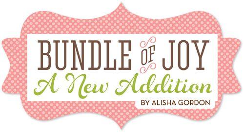 Girl Bundle of Joy New Additions Logos