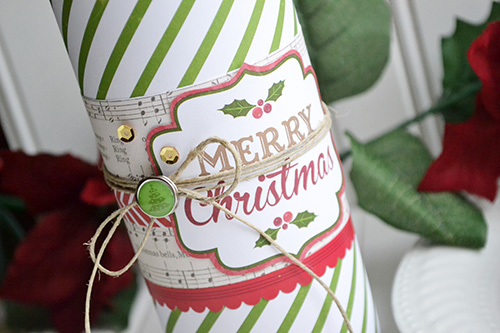 Christmas Cookie Tube by Aly Dosdall 2