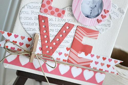 Love Mini Canvas by Aly Dosdall 3