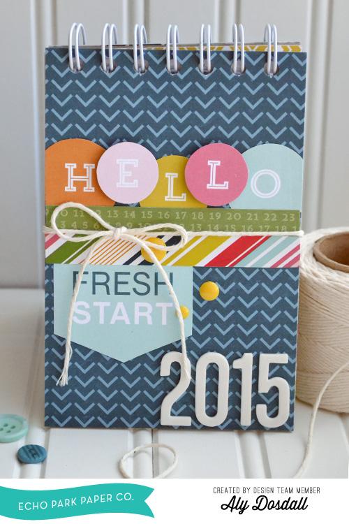 2015 Desk Calendar by Aly Dosdall 1