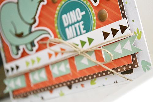 Dino-Mite Card by Aly Dosdall 2