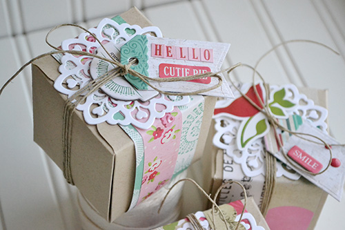 Doily Gift Boxes by Aly Dosdall 3