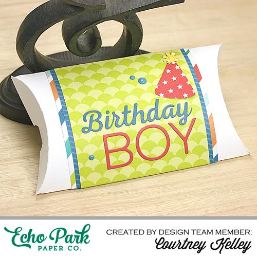 Courtney Kelley Birthday Boy Pillow Box Photo 1