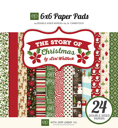 TSC94023_6x6_PaperPad_Cover_Story_Of_Christmas