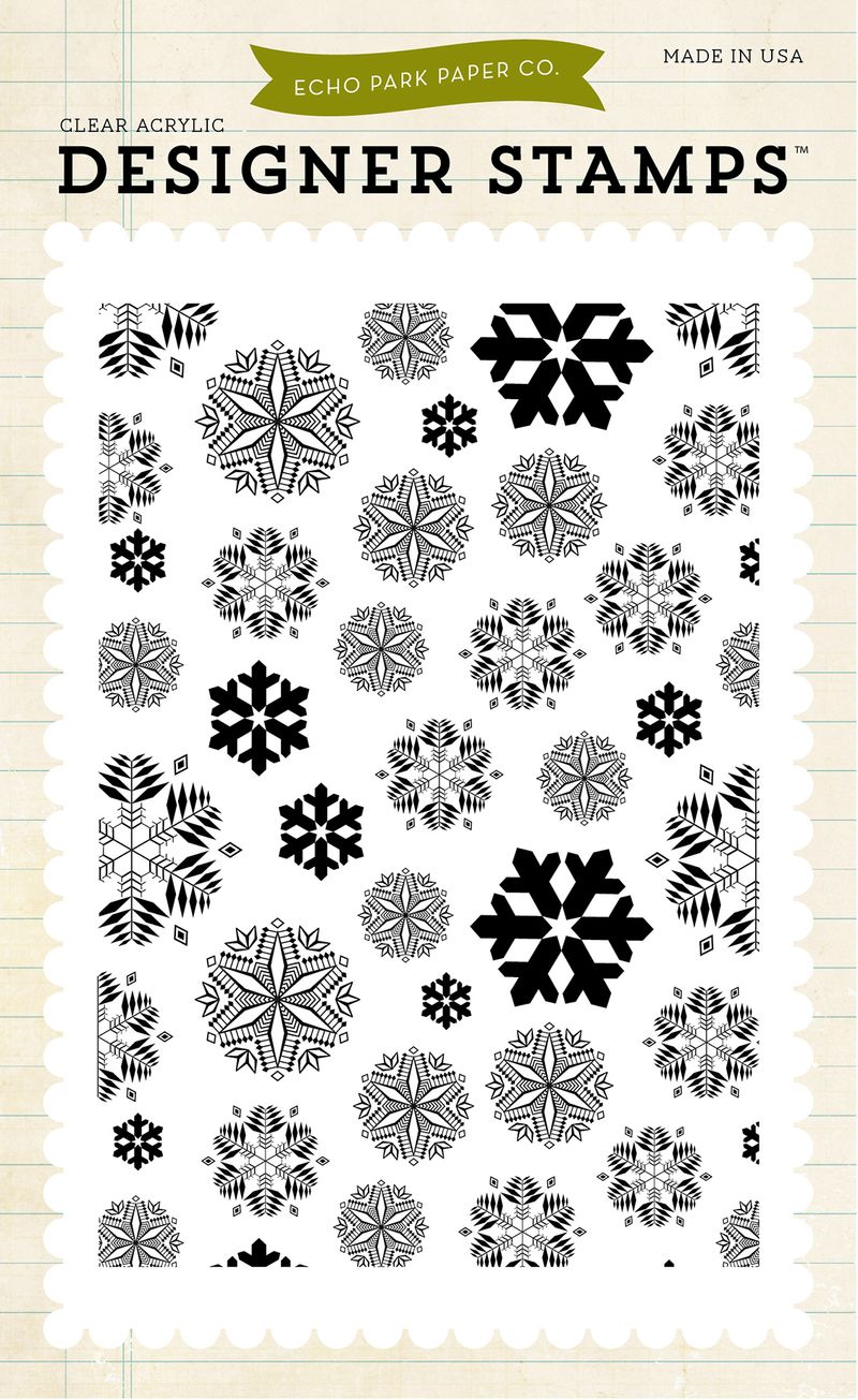 EPSTAMP88_Snowflakes_#2_Stamp