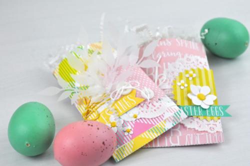 Easter Treat Bags from www.echoparkpaper.com