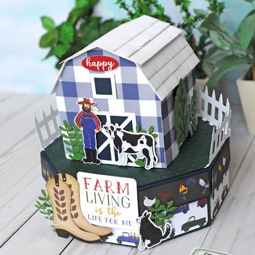 Jana Eubank Echo Park Paper Down On the Farm Barn Box 2 500