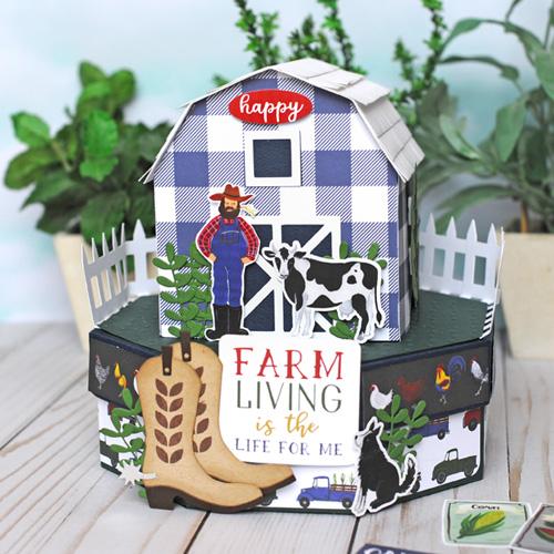 Jana Eubank Echo Park Paper Down On the Farm Barn Box 7 500