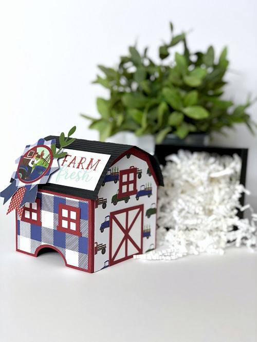 Michelle Zerull Down on the Farm Barn Gift Box photo 4