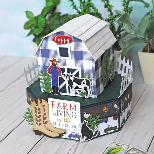 Jana Eubank Echo Park Paper Down On the Farm Barn Box 1 500