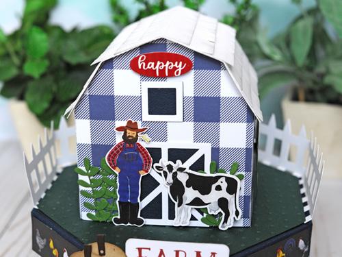 Jana Eubank Echo Park Paper Down On the Farm Barn Box 3 500
