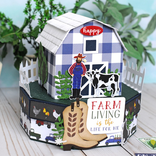Jana Eubank Echo Park Paper Down On the Farm Barn Box 8 500