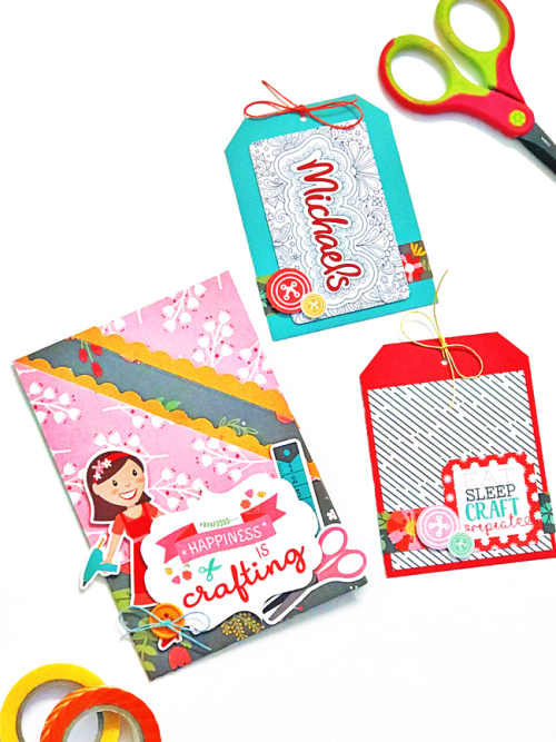 "Gift Card Holder Card by Tya Smith featuring the ""I Heart Crafting"" Collection by #EchoParkPaper"