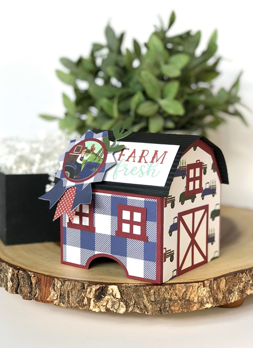 Michelle Zerull Down on the Farm Gift Box 1