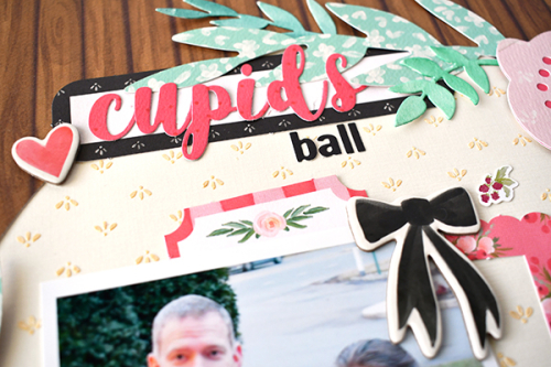 """Cupid's Ball Layout by Suzanna Lee featuring the """"Flower Market"""" collection by #CartaBellaPaper"""