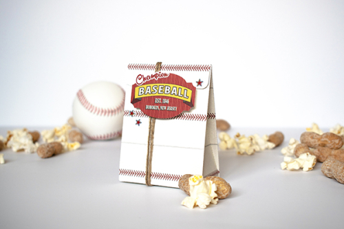 "Team Treats by Michelle Zerull for #CartaBellaPaper with the ""Baseball"" Collection"