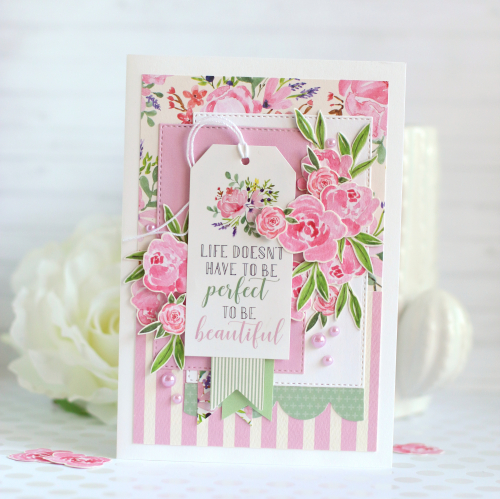 Botanical Gardens cards by Anya Lunchenko for #CartaBellaPaper